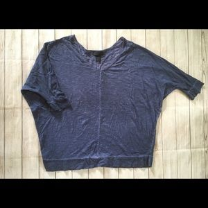 Lane Bryant | Dyed Faded Batwing Blouse